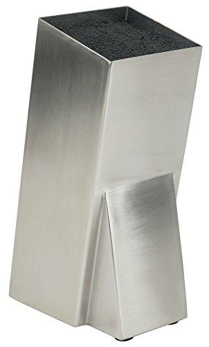 Mantello Modern Stainless Steel Universal Knife Block Knife Holder Storage Organizer