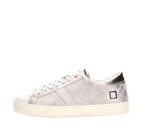 D.a.t.e. Date W311-HL-ST-PL Hill Low STARUDUST Sneakers Damen Platinum 40