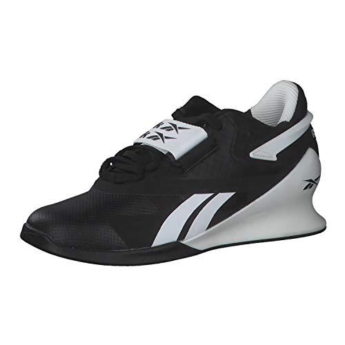 Reebok Legacy Lifter II, Zapatillas de Deporte para Mujer, Negro/Blanco/PUGRY6, 38.5 EU