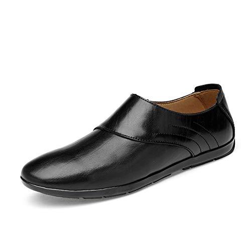 Sandalen ZI LING SCHOENEN Zakelijke Casual Mode Oxford Schoenen Voor Mannen Echt Leer Zomer Ademende Geperforeerde Jurk Bruiloft Loafers Anti-slip Platte Slip-on Ronde teen