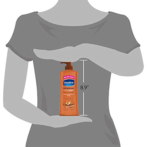 Vaseline Intensive Care Cocoa Glow Body Lotion 5