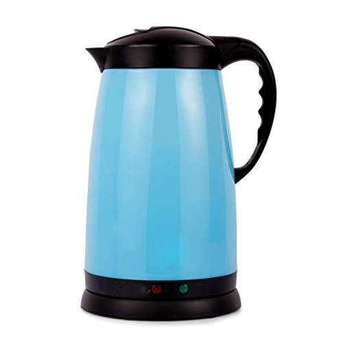 OH Wasserkocher Für Schnellkoch Haushalt Edelstahl Wasserkocher Automatische Wasserkocher Feiertagsgeschenk/Blau