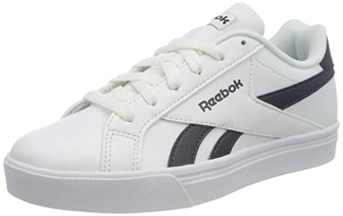 Reebok Royal Complete3Low, Zapatillas de Tenis Unisex Adulto, Multicolor (White/Collegiate Navy 000), 44 EU