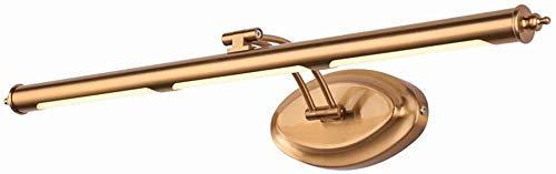 WEM Home Dekorative Spiegelleuchten, Carl Artbay Led, Badezimmer Licht Wandspiegelschrank Wasserdicht Und Antibeschlag,16W / 75Cm
