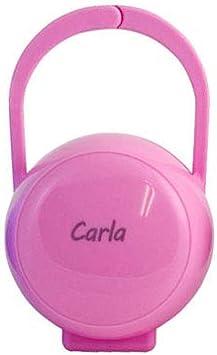Azul Boann Caja Porta-chupetes Personalizada