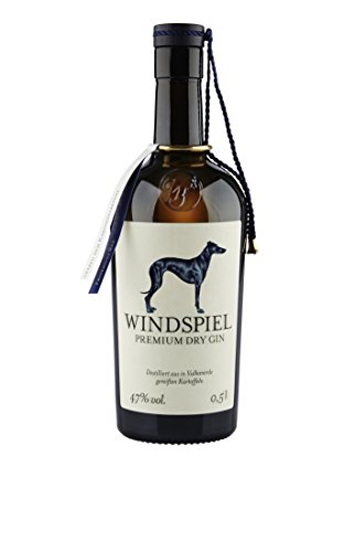 Windspiel Premium Dry Gin (1 x 0.5 l)