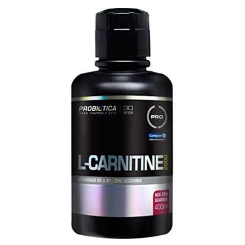 L-Carnitina 2000 (400ml) - Probiótica - Açaí com Guaraná