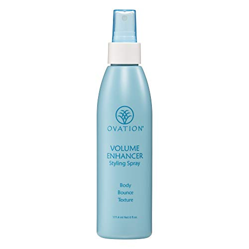 Ovation Volume Enhancer Styling Spray - Helps boost fine, limp hair. Great for styling. Safe for Color Treated Hair and Cruelty Free. No Parabens. No Sulfates. Made in the USA.