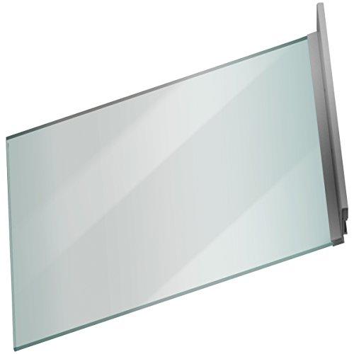 ACO Therm® Lichtschachtabdeckung aus ESG Glas für Lichtschacht 400x1000, inkl. Scharnier und Montageset