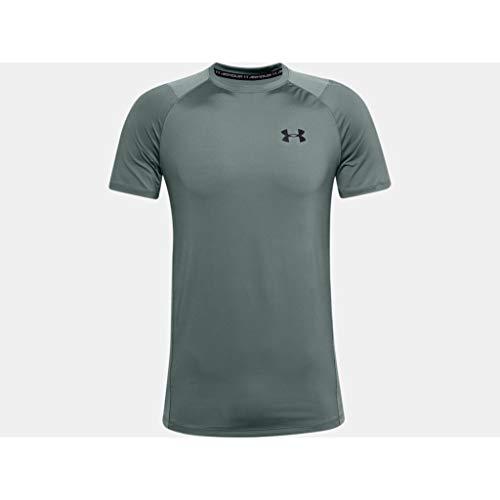 Under Armour Herren Mk1 T-Shirt, Lichen Blue / / Black (424), M