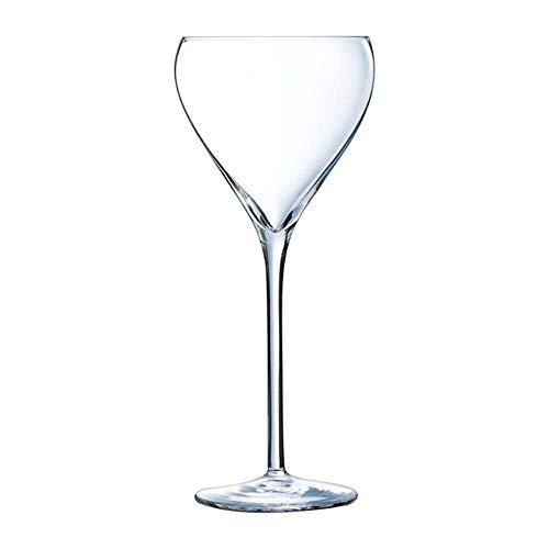 Arcoroc ARC H8466 Brio Copas de champá, cristal, 95 ml, 6 unidades, transparente