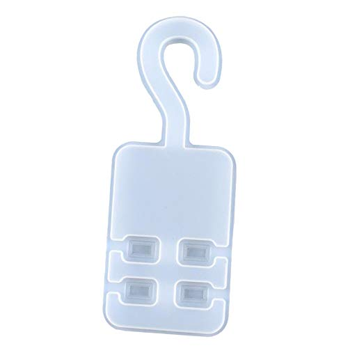 Hanger Resin Mold, Silicone Epocxy Casting Storage Hook Molds, DIY Craft, Masks Holder, Car Key Organizer Hook, Indoor and Outdoor Decoration Supplies
