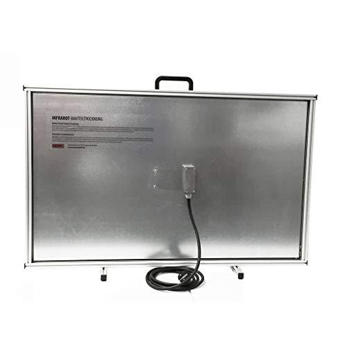 Infrarot Trocknungsplatte zur Bautrocknung 230V / 600 W Format 1003x680x40 mm mit Stellfüßen - 71774