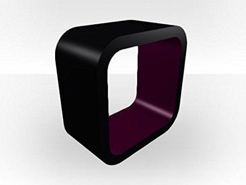 Extérieur Noir Aquarium Cube