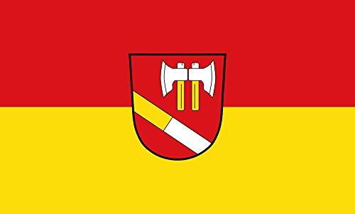 Unbekannt magFlags Tisch-Fahne/Tisch-Flagge: Hilgertshausen-Tandern 15x25cm inkl. Tisch-Ständer