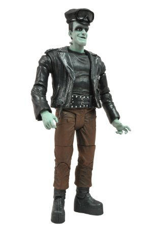 Kabin Diamond Select Toys The Munsters Select Hotrod Herman Action Figure