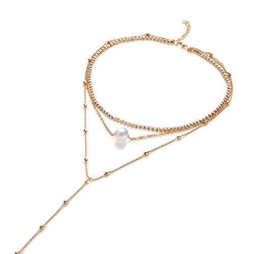 Collar Conjuntos De Joyería Moda Metal Cubic Zirconia Pendientes De Moda Collar De Mujer Joyería De Diseño Mujer Style-7