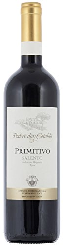 12x 0,75l - 2018er - Podere Don Cataldo - Primitivo - Salento I.G.T. - Apulien - Italien - Rotwein trocken