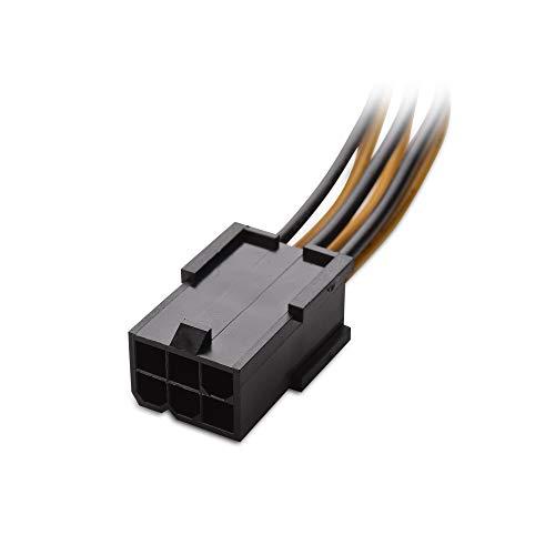 『Cable Matters 6ピン PCIe 8ピン PCIe 変換電源ケーブル ビデオグラフィックカードに対応 2本セット 4 インチ』の1枚目の画像