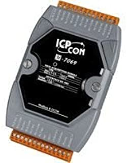 ICP DAS USA's M-7069 4-Channel Form A Relay Output and 4-Channel Form C Relay Output, Digital Input Module, communicable Over RS-485, Modbus RTU, and DCON.