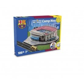 Barcelona Camp Nou Football Stadium 3D Jigsaw Puzzle