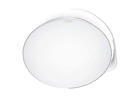 Steinel 035105 LED Innenleuchte RS 16 LED, Opalglas, 9.5 W Wandleuchte, 360° Bewegungsmelder, max. 3 - 8 m Reichweite, 845 lm, weiß