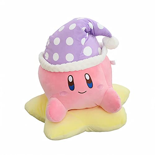 Rpporm Lovely Pokemon juguete juego periférico juguetes de peluche Kirbyed muñeca de peluche encantador sofá cojín kawaii almohada muñeca regalo para niño niña presente sofá cama abrazando almohada