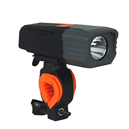 GBZLFH Montando en Bicicleta Faros de Bicicleta eléctrica Resplandor Luces USB Carga Directa a Prueba de Lluvia Equipo al Aire Libre