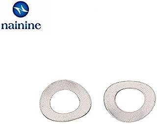 Inner Diameter: M33; Number of Pcs: 1Pcs M33//36//42//48 Hi-Q Spring Washer 8.8 Grade Carbon Steel Black Split Lock Washer Spring Gasket Cushion Pad Ring Stock-Home Fastener