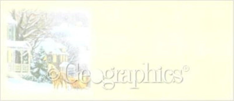 Winter Briefumschläge Nr. 10, 4–1 20,3 x 24,1 cm 50 PK B00OU29HDA | Sofortige Lieferung