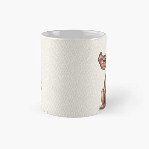 Cataclysm - Elf Kitten Classic Canvas Mug Best Gift Funny Coffee Mugs 11 Oz