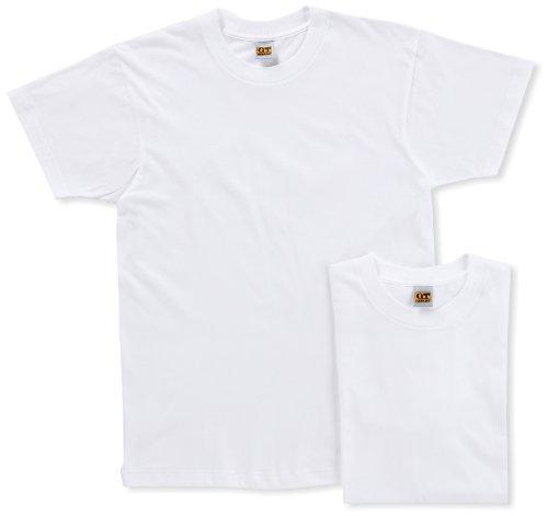 [グンゼ] インナーシャツ G.T.HAWKINS 綿100% Tシャツ 2枚組 HK10132 メンズ ホワイト 日本M (日本サイズM相当)