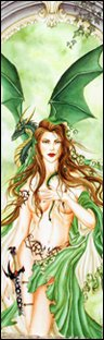 Nene Thomas ORACLE Fairy Faery Bookmark