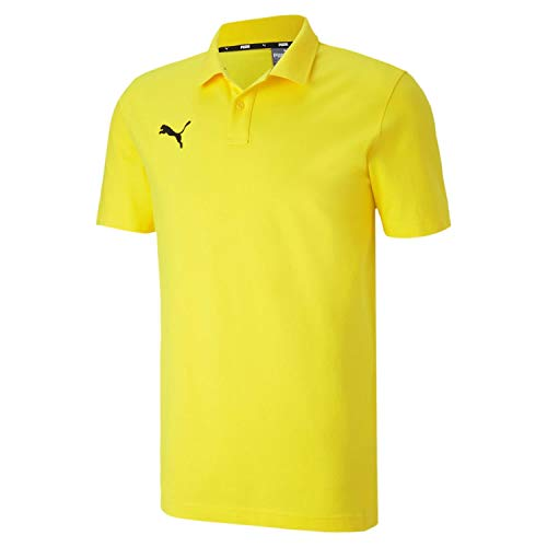PUMA Herren teamGOAL 23 Casuals Polo Poloshirt, Cyber Yellow, XL