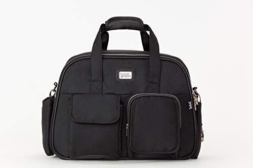 Bizzi Growin Chelsea Black Pod  Baby Travel Changing Bag