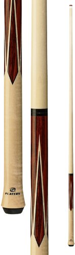 Players Exotics E-JC Birds-Eye Maple and Rengas Jump Pool Cue