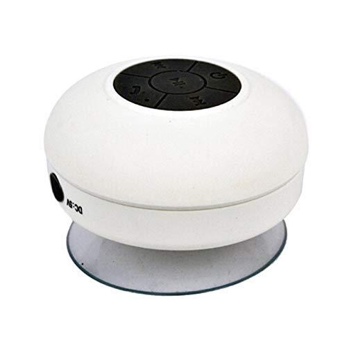 Bluetooth-luidspreker, waterdicht, draagbaar, mini-bluetooth-luidspreker, Wit.