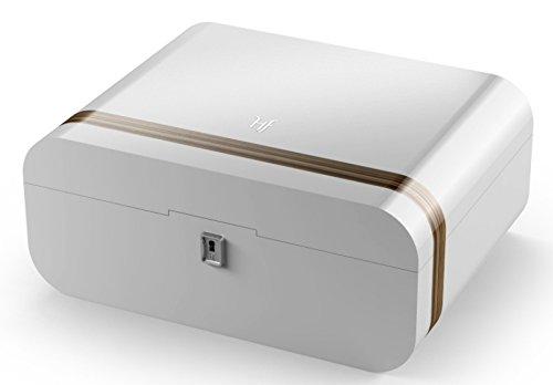Humidif Humidor Style White inkl. Lifestyle-Ambiente Tastingbogen