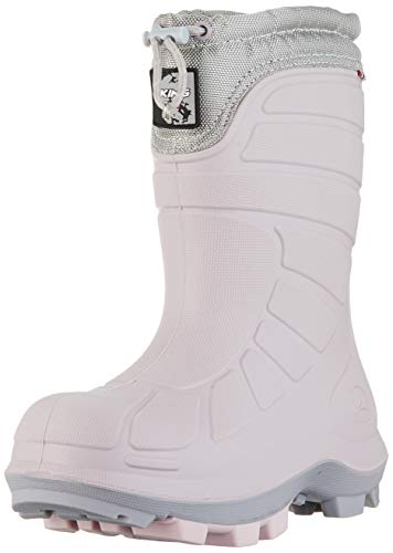 Viking Unisex-Kinder EXTREME 5-75450 Schneestiefel, Light Lilac/Pearl Grey, 27 EU