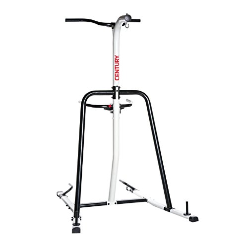 Century Fitness Training Station One Size Fits Most, Upper Body, Martial Arts, Bolt for Heavy Hanging Bag, Pull Up Bars, Dip Handles, Push Up Handles, Holds Up to a 100lb Bag -  1087016-110