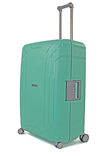 Pure - Reisekoffer Hoxton 75,5 x 30 x 53 cm - Großer Trolley mit 4 Rollen und TSA-Schloss - Rollenkoffer mit 105 Litern Volumen - Mint