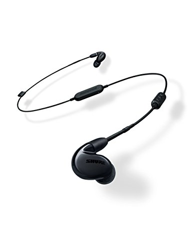 Shure SE846-K+BT1 Wireless Sound Isolating Earphones with Bluetooth Enabled Communication Cable, Black