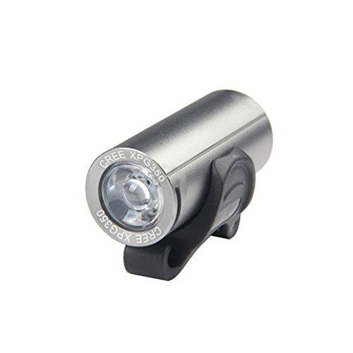 Lumière Vélo 300 LM DEL T6 bicyclette phare Zoom Rechargeable USB Plu H3M7