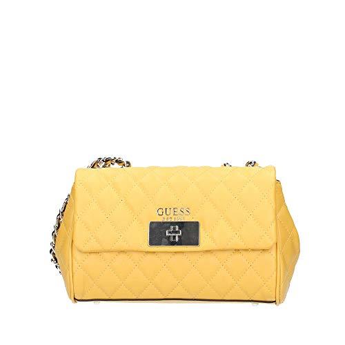 Bolso Guess amarillo para fiesta