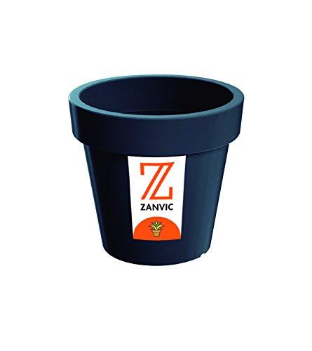 Zanvic Maceta LoFly 400, 40 x 37 cm, Antracita, 40x37x37 cm, ZA108
