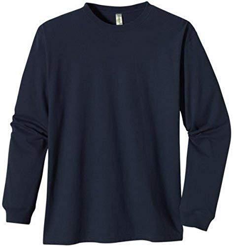 econscious T-Shirt à Manches Longues 100% Coton Bio pour Homme XL Pacifique