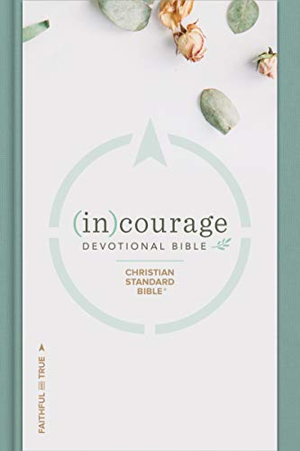 CSB (in)courage Devotional Bible: Black Letter, Notetaking Space, Reading Plans, Easy-To-Read Font