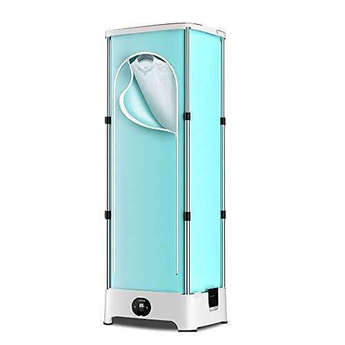 N / B Secador para el hogar, Lavandería Secadoras rápidas, Bolso de Secado portátil Plegable, cerámica PTC Resistencia a Alta Temperatura Resistencia RESPONDIENDO Caliente DE Viento Caliente, Azul