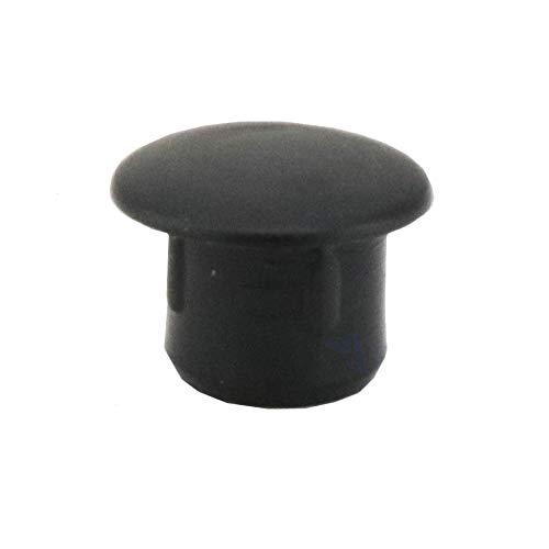 Irox color gris cabeza de 9 mm pl/ástico 20 tapones para orificio de 6 mm