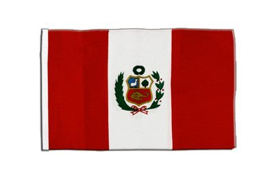 Flaggenfritze® Flagge Peru - 30 x 45 cm